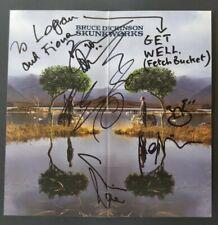 Bruce Dickinson Signed Promo Flat - Iron Maiden