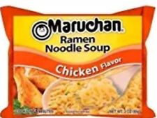 6 Pack Chicken Ramen Noodle Soup Maruchan Travel To Go