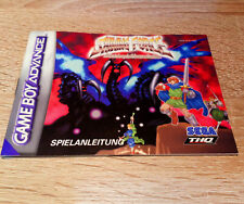 Gameboy Advance (GBA) // Shining Force - Anleitung/Instructions // dt. PAL