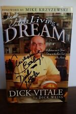 Dick Vitale's Living a Dream: Reflections on 25 Years SIGNED Hard Cover