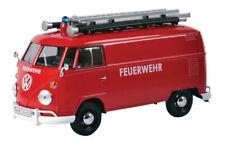 Motor Max 1:24 W/B Volkswagen Type 2 (T1) Fire Vehicles Van Diecast Car 79564
