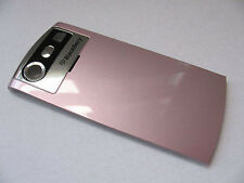 COVER ORIGINALE BLACKBERRY 8110 8130 BATTERYCOVER COPRIBATTERIA ROSA PINK