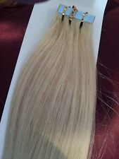 """20""""TAPE HAIR Assorted Colours HUMAN REMY HAIR EXTENSIONS 0.5G incl OMBRE HAIR"""