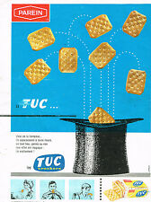 PUBLICITE ADVERTISING 014   1963   PAREIN   biscuits apéritif TUC crackers