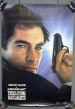1987 Movie Poster LIVING DAYLIGHTS Timothy Dalton