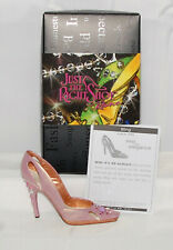 Just The Right Shoe by Raine Shoe Miniatures- Bling Nib