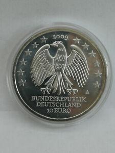 10 Euro Silber Münze 600 Jahre Uni Leipzig Deutschland 2009 TOP