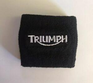 Motorcycle Brake Fluid Reservoir Tank Sock Sleeve Cover For Triumph