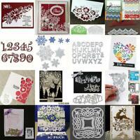 DIY Metal Cutting Dies Embossing Stencil Die Card Paper Scrapbooking Album Craft