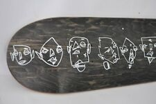 Hand Drawn Skatedeck sk8 Drawing Original Art Modern OUTSIDER GRAFFITI EAO