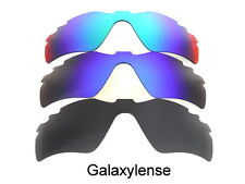 Galaxy Replacement Lenses For Oakley Radar Path Vented Black/Blue/Green 3 Pairs