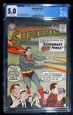 Superman #125 CGC 5.0, 1st apperance Power Girl & Power Man Nov. 1958