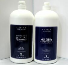Alterna Caviar Moisture Shampoo Conditioner 67.6 oz 2 Liter Set Duo Half Gallon