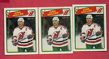 3 X 1988-89 OPC # 84 DEVILS KIRK MULLER CARD
