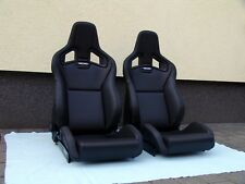 RECARO SPORTSTER CS SEATS, PAIR, BRAND NEW