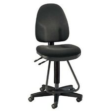 Alvin DC555-40 Black Executive Drafting Height Monarch Chair NEW
