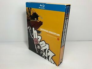 Samurai Champloo: The Complete Series - Anime Blu Ray - Free Tracked Postage