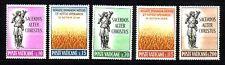Vaticano michel número 397 - 401 frescos de correos (interno: país)