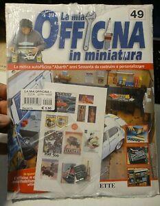 LA MIA OFFICINA IN MINIATURA - N° 49 HACHETTE - IN CELLOPHANE / NUOVO -