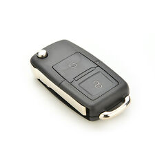 2 Buttons Folding Vehicle Remote Flip Key Shell Cover For VW GOLF MK4 BORA FG