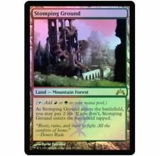 1x FOIL Stomping Ground GTC Gatecrash No247 MTG MINT/Unplay English Magic RareX1