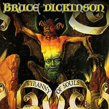 Bruce Dickinson Tyranny of Souls LP Vinyl Europe BMG 2017 10 Track in Gatefold