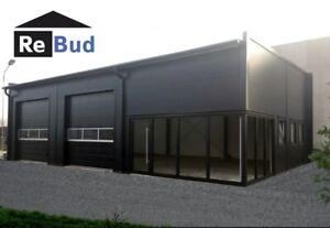 Industrial Steel Building 10m x 15m garage warehouse car workshop garden shed