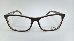 I-Spax Brille Brillengestell Fassung Brillengestell Imago Katie 163 braun