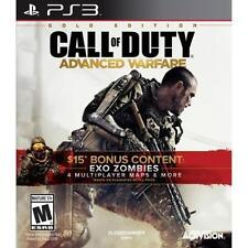 Call of Duty: Advanced Warfare Gold Edition for Playstation 3 PS3 Brand New!