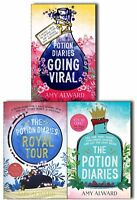Potion Diaries Amy Alward 3 Books Collection Pack Set- The Potion Diaries, Royal