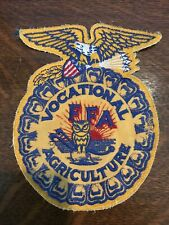 Large Vintage Vocational Agriculture Future Farmers of America FFA Patch