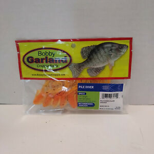 """Bobby Garland Crappie Pile Diver 10 Pack 2.5"""" Twin-Tail Grubs Choose Color"""