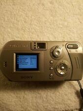 Sony Cyber-shot DSC-P10 5.0MP Digital Camera - Silver