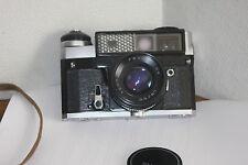 KIEV-5 Rangefinder Camera with Lens Helios-94 1,8/50