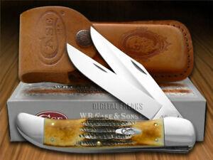 Case xx Folding Hunter Knife Genuine 6.5 Bone Stag Stainless Pocket Knives 03574
