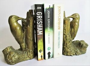 Vintage Pair of Woodpecker Bookends