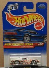 1998 Mega 2 Graphics Series Ford Mustang Cobra Race Car Hw Hot Wheels