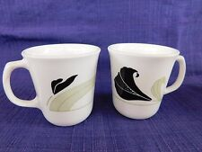 Corelle Black Orchid COFFEE CUPS - SET of TWO (2) *have more items to this set