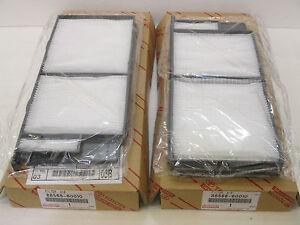 Lexus OEM Cabin filter set 1998-2007 LX470
