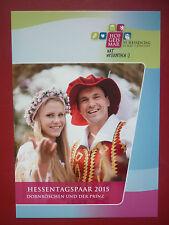 AK.Hessentag Karte Hessentagspaar  Hofgeismar 2015  Dornröschen und der Prinz