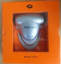 Boots Book Reading Light takes AAA BATTERIES