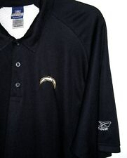 Reebok NFL Apparel Golf Shirt San Diego Los Angeles Chargers Navy/White 2XL NWOT