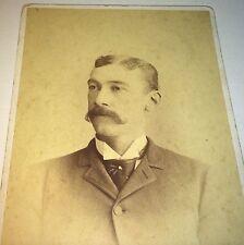 Antique Western American ID'd Geo. Dimick Colorado Springs! Cabinet Card Photo!