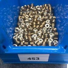 1 Stück Reduzier Gewinde - Adapter Messing M14 AG auf M6  IG Länge 10 mm (453)