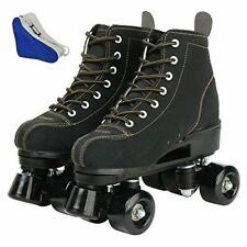 New listing Roller Skates for Women and Mens Classic High-top 4 Wheels Skating Roller Dou...