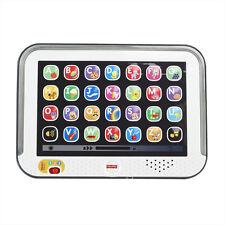 Mattel Fisher- CDG57 Lernspaß Lerncomputer Tablet grau