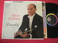 CLASSICAL LP - LEINSDORF - OPERA OVERTURES - CAPITOL FDS STEREO SP-8465 VG++