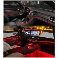 4M Red LED Car Interior Decor Atmosphere Wire Strip Light Lamp Car Accessories