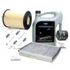 Original Ford Inspektionskit Filterset C-Max Focus Kuga Formula F 5W30 Motoröl
