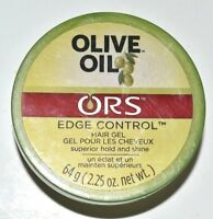 Olive Oil Edge Control Hair Gel by ORS for Unisex - 2.25 oz Gel